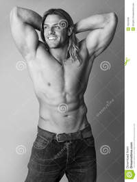 hot male body builders athletic sexy male body builder royalty free stock photos