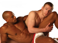hot men in gay gay interacial couple white briefs pants fucking