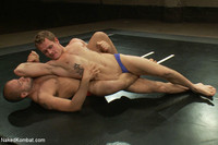 hot muscular gay porn hot muscle wrestling match leo forte trent diesel