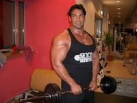 Italian muscle men bodybuilder hubert morandell italy