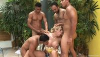 Latin cocks frame rcr torrent shemale busty tranny takes four latin cocks