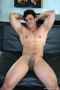 Latin naked man smooth hard muscle hunk robert dances naked boner man avenue pic from