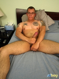 Latino gay porn boy ray sosa uncut cock latino marine masturbating amateur gay porn shows his tatts jerks