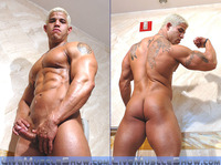 male bodybuilder penis joos front