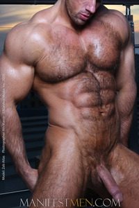 male bodybuilder penis gallery zeb atlas hairy bodybuilder daily dick