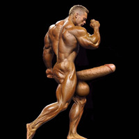 male bodybuilder penis flex lewis dnbls electrifying bodybuilder shows his