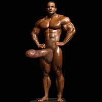 male bodybuilder penis stunning naked bodybuilder