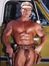 male naked bodybuilders smooth bodybuilder ward austin strips naked strokes his hard cock muscle fantasies minute man cowboy country from colt studio group pic studios male videos dvds men