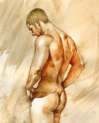 male pictures nude medium large nude chris lopez art paintings male all