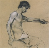 male pictures nude koloman moser male nude study