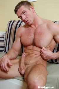 man muscle hunk hairy muscle hunk steve paradi jacks off his cock man avenue mid group message