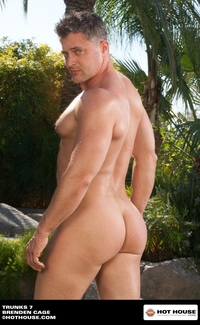 meet gay porn stars hot house trunks brenden cage gay porn star pool outdoors search category manhunt happened