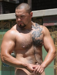 men hunk muscle qag