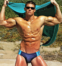 men hunk muscle