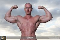 men muscle hunks smooth hung muscle hunk logan jacks off his cock manifest men