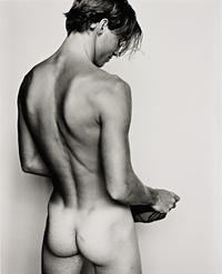 models male naked renaud gucci underwear gelatin silver print