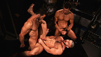 muscle bears gay porn hung muscle hunks francois sagat david anthony junior stellano suck cock fuck gay threeway incubus from titan men pic bears porn