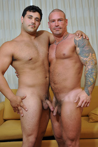 muscle gay porn Pics marcello guy hairy beefy straight muscle cub gay porn fucking sucking bottom chuck buzz beard goatee facial hair masculine hardcore lets give something woof about