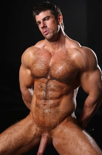 muscle hunk big cock straight