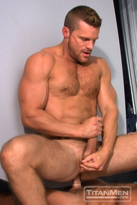 muscle man gay sex landon conrad hunter marx titan men gay porn stars rough older anal muscle hairy guys muscled hunks gallery video photo