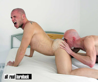 muscle men gay porn all real bareback sam porter steve rilla huge cock barebacking gay porn category felching