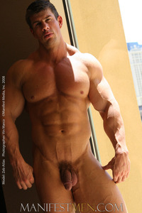 muscles hunks zeb
