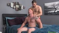 muscular gay porn Pictures straight ginger muscle jock jordan fucks vander bareback scene gay porn chaos men pics that will make want