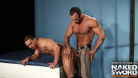 muscular men gay porn gay muscle men uniform naked sword presents