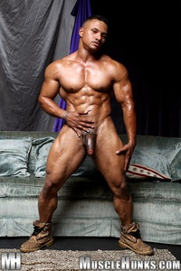 muscular naked black men black muscle bodybuilder devon ford gets naked jerks hunks ripped strips strokes his hard cock torrent photo