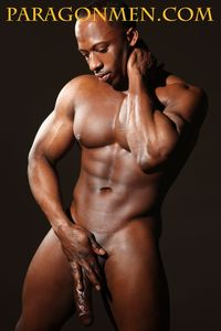muscular naked black men adonis jay