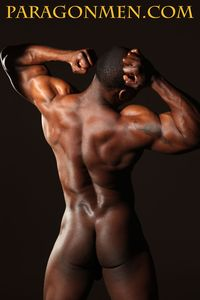 naked black men big dick male stripper muscle hunk adonis jay gets naked strokes his black cock paragon men pic