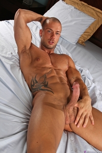 naked men big dicks stroking cock rod daily ripped muscle bodybuilder strips naked strokes his hard torrent photo