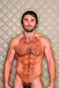 naked men hairy mix lean hairy men