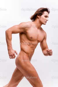 naked muscle mans depositphotos muscular sexy man naked torso isolated white stock photo