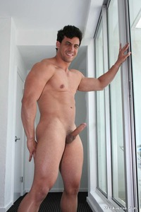 naked muscle mans smooth hard muscle hunk robert dances naked boner man avenue pic from