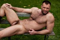 naked muscle studs hairy hung muscle hunk aaron cage smooth muscular stud andreas cavalli suck cock fuck man tricks from colt studio group pic naked