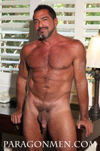 naked muscle muscle daddy real man joe bruno strips naked jacks off his cock greg weiner paragon men pic
