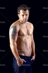 naked muscular guys depositphotos naked muscular male model jeans stock photo