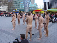 nude dudes nude town square guys