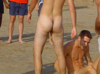 nude dudes pantsed naked men beach pantsing from hot guys