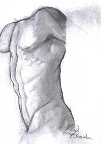 nude male models pics rough sketch nude male model