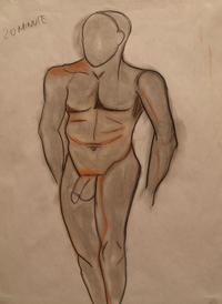 nude male photos medium large nude male drawing teri schuster featured
