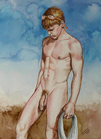 nude male photos medium large private nude male after long swim christopher shellhammer featured