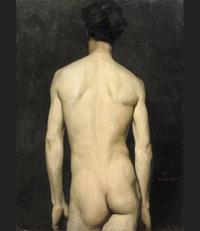 nude male photos uploadpic unknown artist albert edelfelt male nude painting offer handmade reproduction