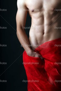 nude men pictures depositphotos sensual nude men red cloth stock photo