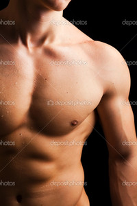 nude muscled men depositphotos young man naked muscled torso against black background stock photo