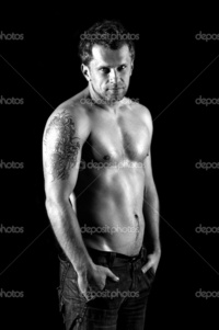 nude muscular males depositphotos naked muscular male model jeans stock photo