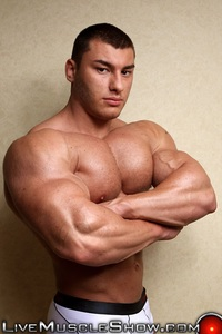 pics of huge gay cock livemuscleshow naked muscle boy bodybuilder year old lev danovitz young muscled hunk huge abs pecs lats massive arms long thick cock gay porn porno video pics gallery photo xxx