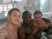 pictures of gay dudes jack wilshere emmanuel frimpong aaron ramsey arsenal broken