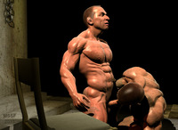 porn gay bodybuilders chains chair category gay bodybuilders